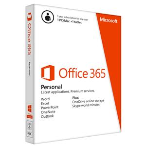 Phần mềm Office Microsoft 365 Personal 32b/x64 English 1YR