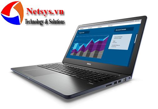 Laptop Dell Vostro V5568A P62F001 TI78104W10 Blue vỏ nhôm